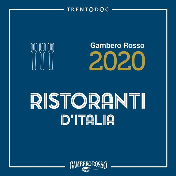 Trentodoc premia le 3 Forchette del Gambero Rosso nel trentesimo anno della Guida Ristoranti d'Italia