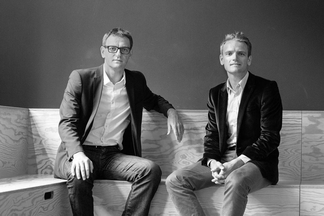 Le deux partners, Bert Denis et Xavier Laoureux