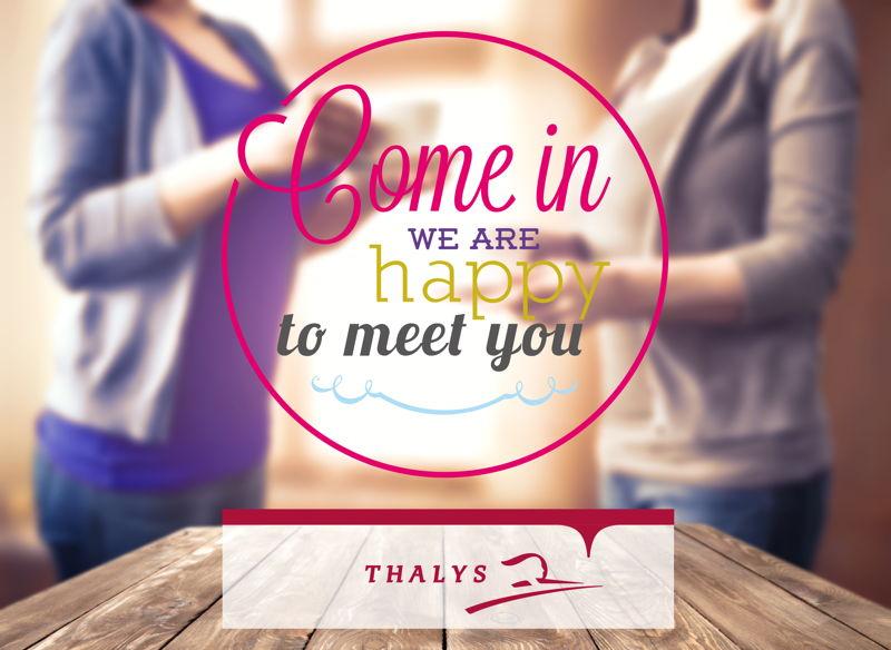 Bienvenue chez vous, une campagne de communication interne pour Thalys