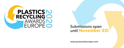 Plastics Recycling Awards Europe 2020 Open for Entries