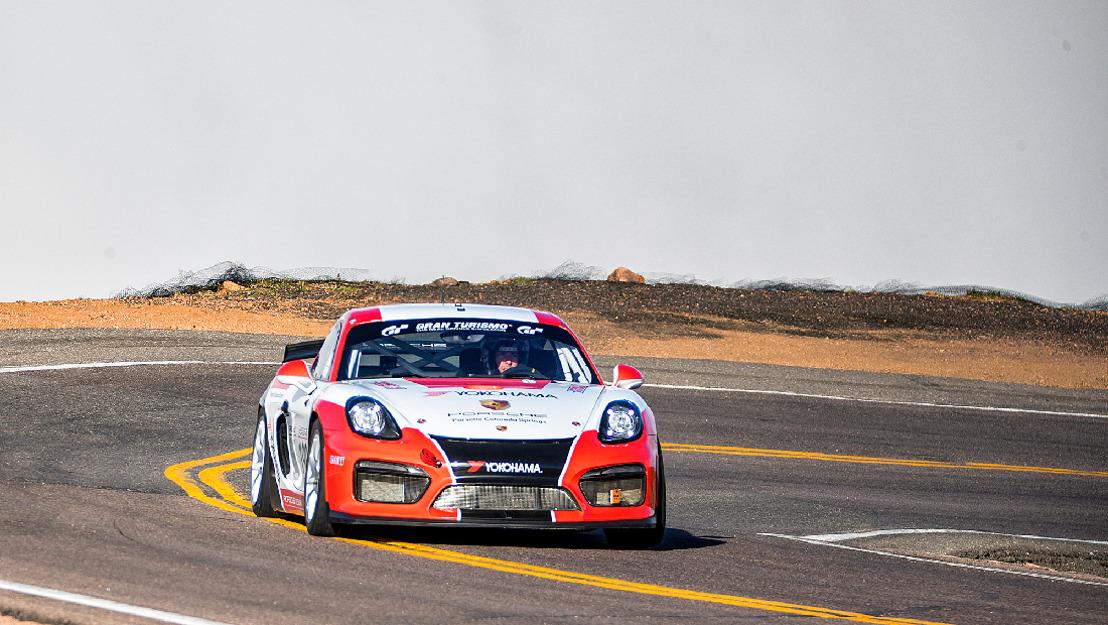 Porsche en la 'Carrera hacia las Nubes': una clase aparte