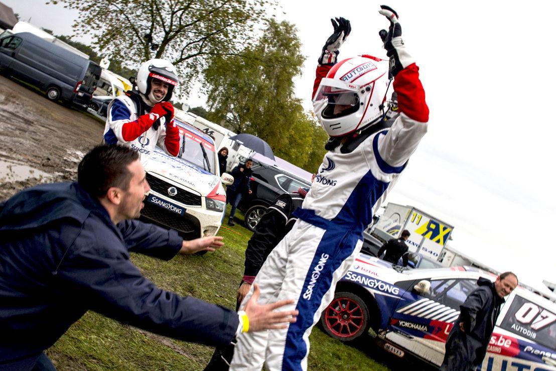 Loris Cencetti Jr. winner  Ladbrokes SRX CUP