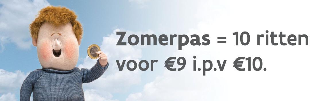 Zomerpas: nieuw vervoerbewijs voor onbeperkt aantal zones