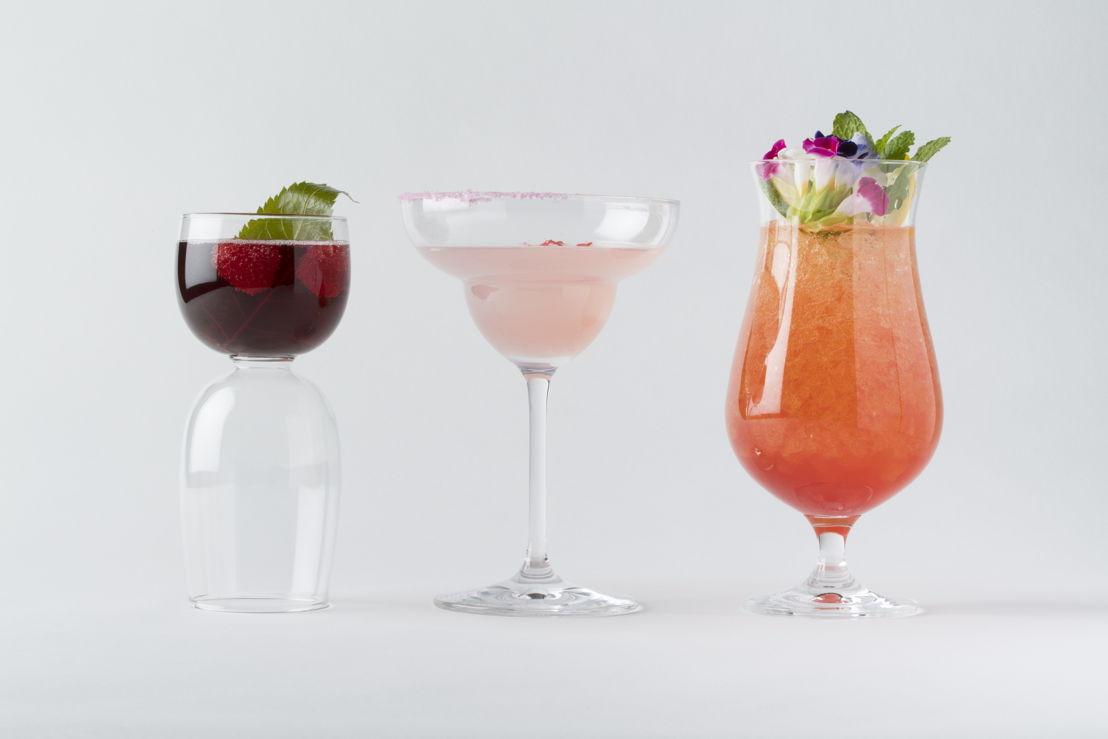 The Peninsula Tokyo - Anniversary Bouquet, Sakura Margarita and Spring Grace cocktails