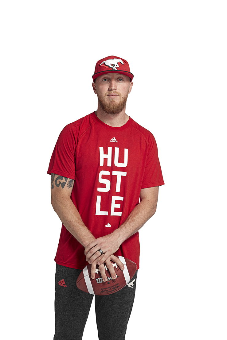Calgary Stampeders adidas team collection (Bo Levi Mitchell)
