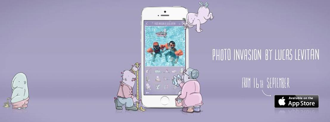 Les Gantois d'HeyHey Apps sortent une application avec la sensation Instagram Lucas Levitan