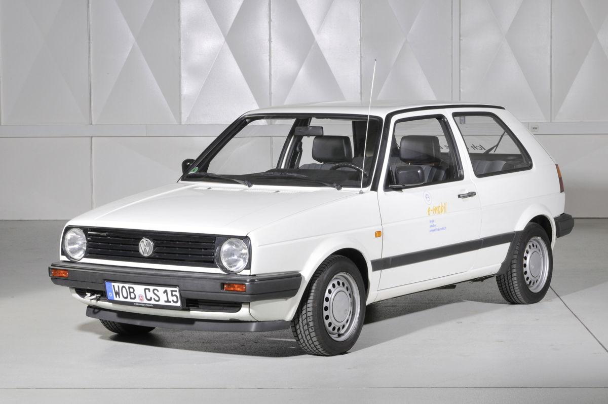 La segunda generación del CitySTOMer está basada en el Golf Mark II y fue develado en 1985.