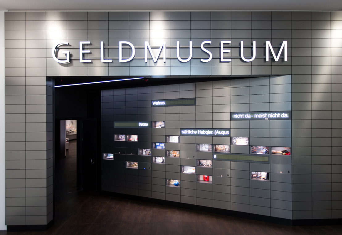 HearDis! hat im Auftrag des Kreuzberger Kreativ-Unternehmens xailabs Musik, Sound Design und Sprachaufnahmen des Geldmuseums produziert.