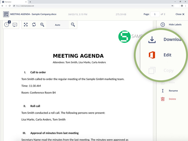Preview: Teamplace now enables teams to work together on Microsoft Office 365