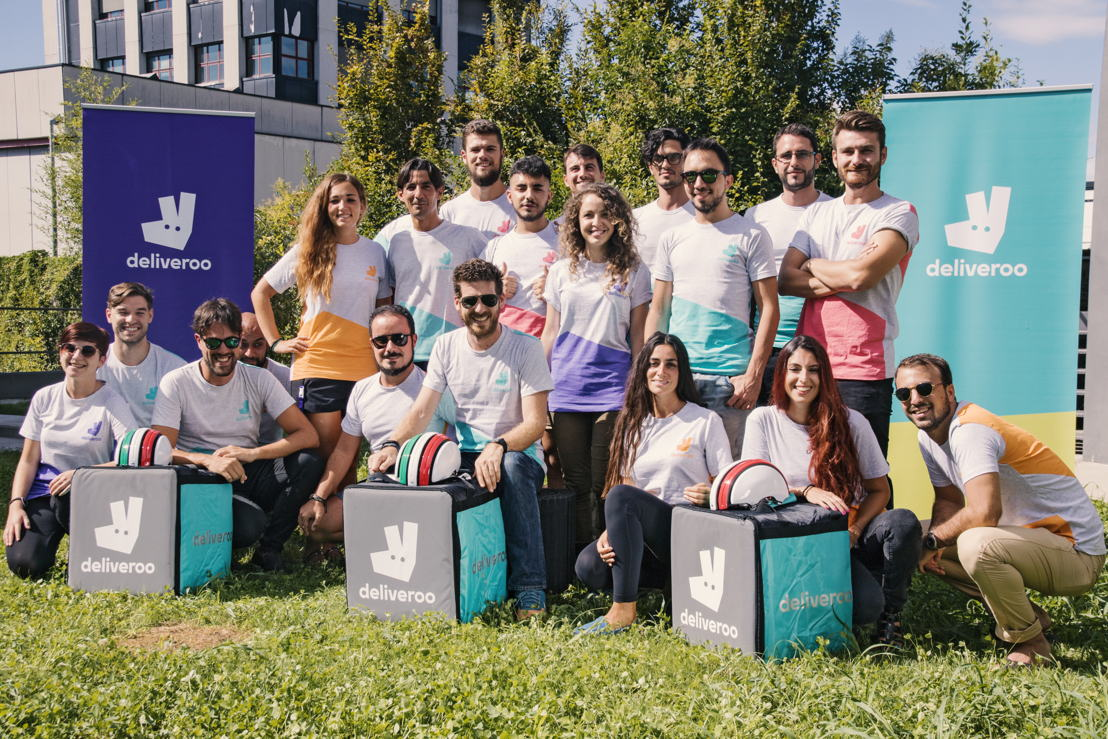 Team Deliveroo Italy