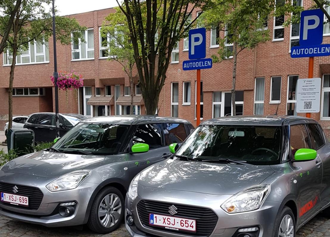 Suzuki Belgium start een partnership met de gemeente Kontich voor een autodelen-project
