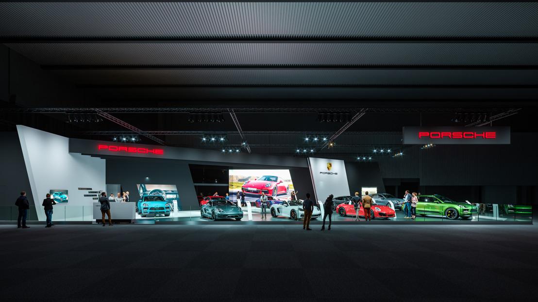 De nieuwe Porsche 911 krijgt zijn grote Europese première tijdens de 97ste Brussels Motor Show.