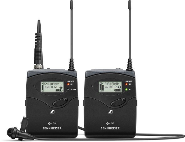 Wireless camera audio: the ew 112-p G4