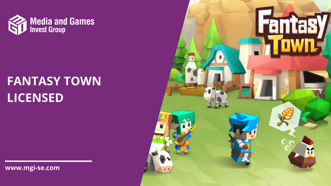 Media and Games Invest SE licenses the successful Asian mobile game Fantasy Town, further expanding its launch pipeline