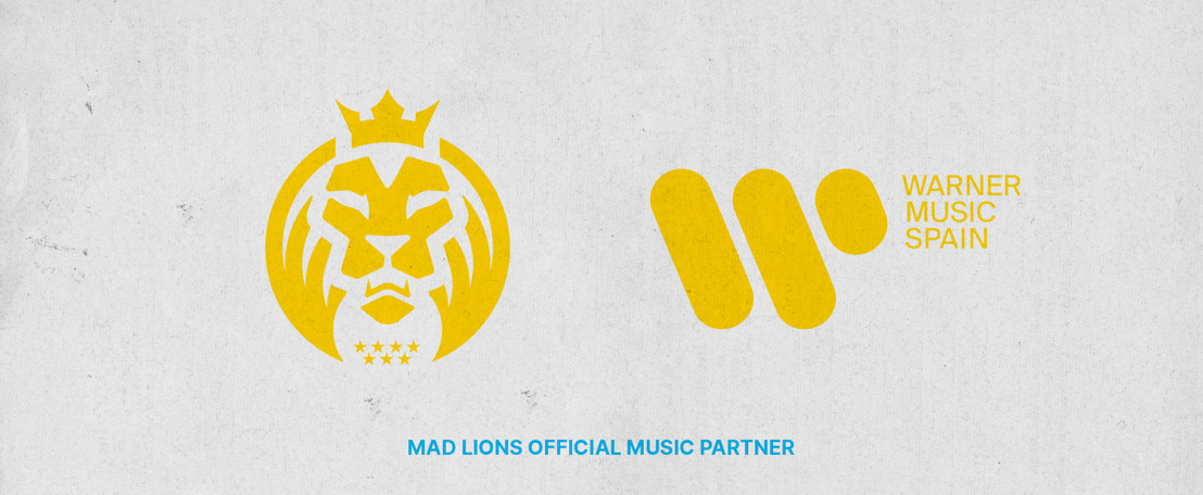 WARNER MUSIC SPAIN Y MAD LIONS ANUNCIAN PARTNERSHIP
