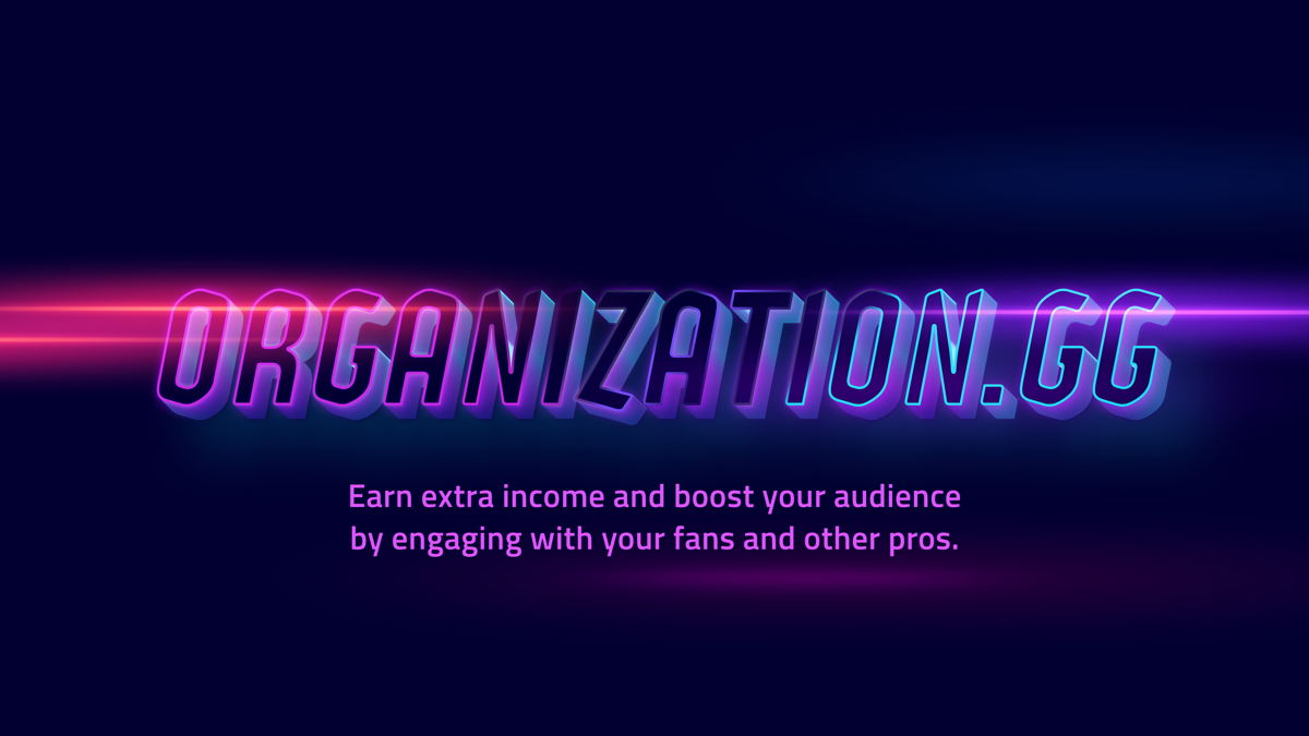 Creating interactive experiences for fans. Image credit: Organization.GG