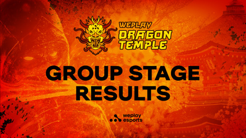 WePlay Dragon Temple Group A Results