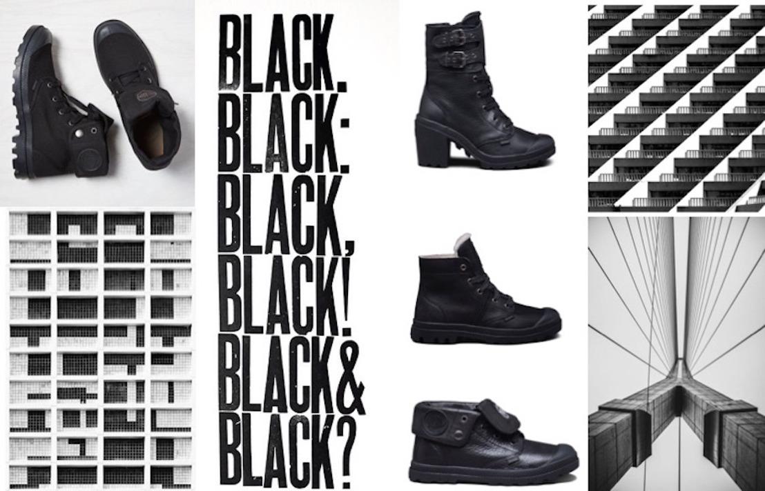 The Palladium Black boots: de essentie in je kleerkast