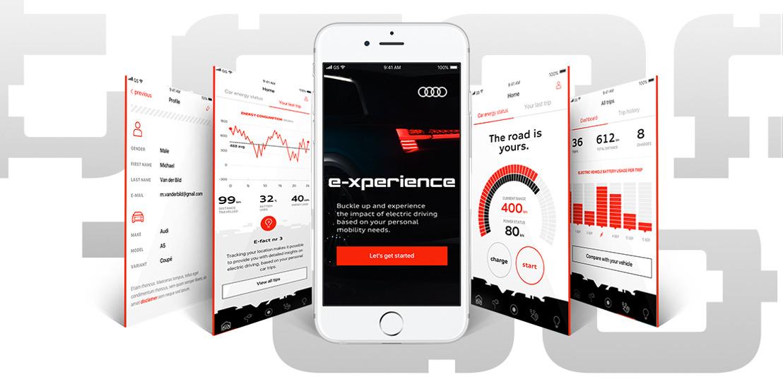 Audi en Prophets nemen je mee in een elektrische e-xperience.