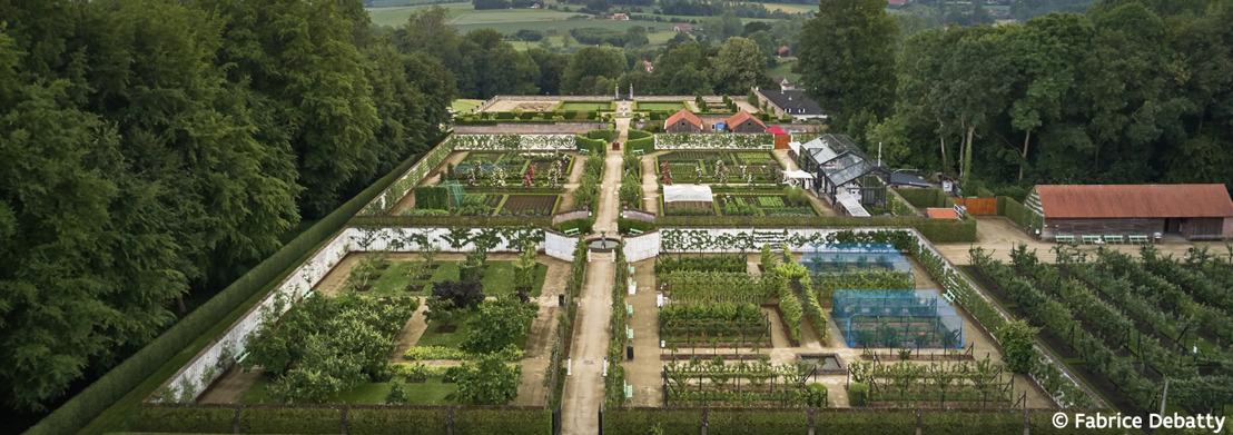 Bloeiende zomer in de Museumtuin van Gaasbeek