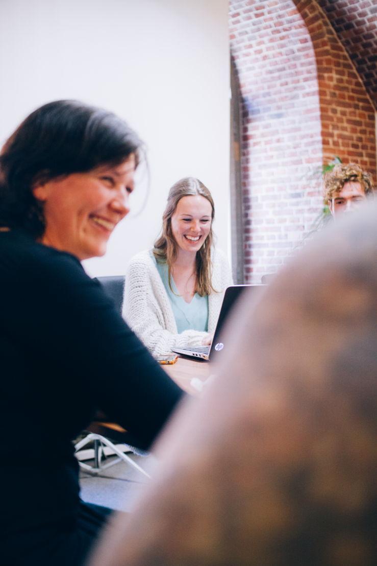 Vergadering in Coworkingspace Het Bolwerk in Edegem