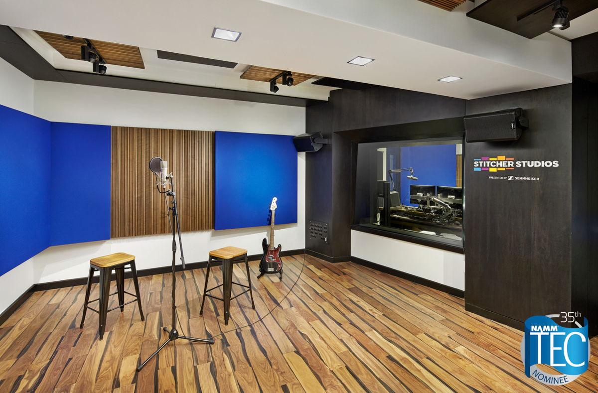 WSDG-Designed Stitcher Live Room ©John Muggenborg