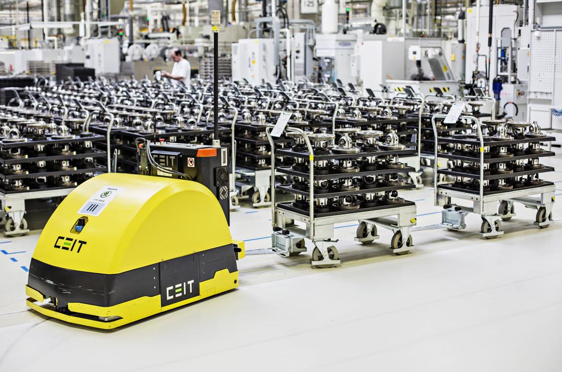 ŠKODA AUTO produces 10 millionth gearbox