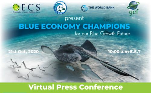 OECS Blue Economy Virtual Press Conference