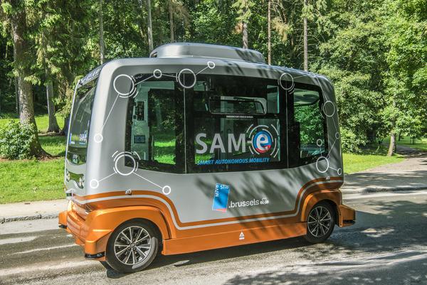 Preview: De MIVB test zelfrijdende pendelbusjes