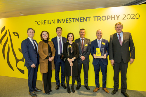 Project ONE van INEOS door FIT bekroond als Exceptional Investment of the Year 2020