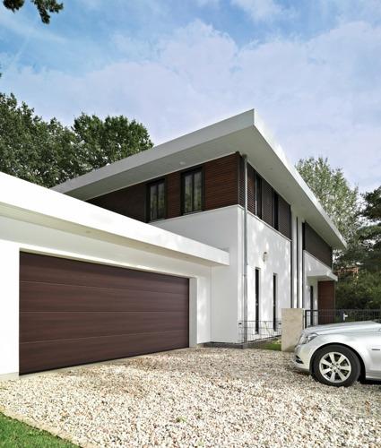 Nouvelle surface au design photoréaliste pour portes de garage