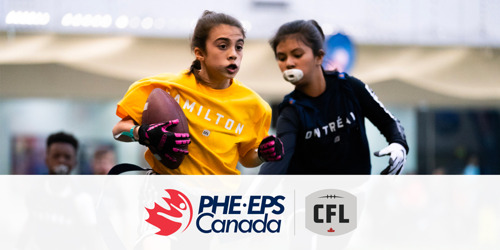 #TRYFOOTBALL: CFL AND PHYSICAL AND HEALTH EDUCATION CANADA BRING FOOTBALL TO SCHOOLS
