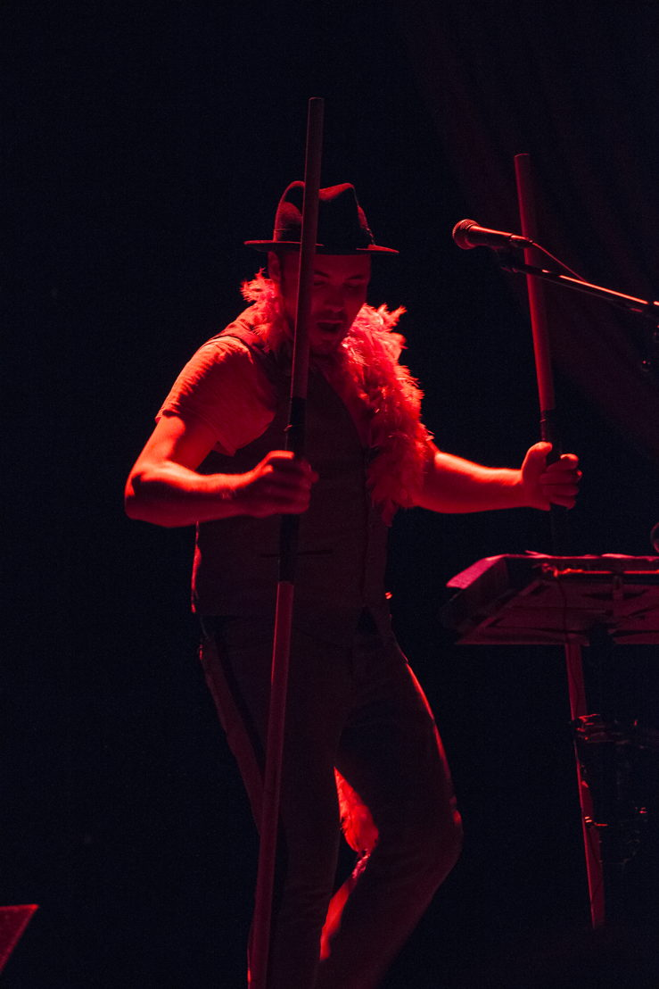 Hawksley Workman in The God That Comes / Photos by Tristan Brand