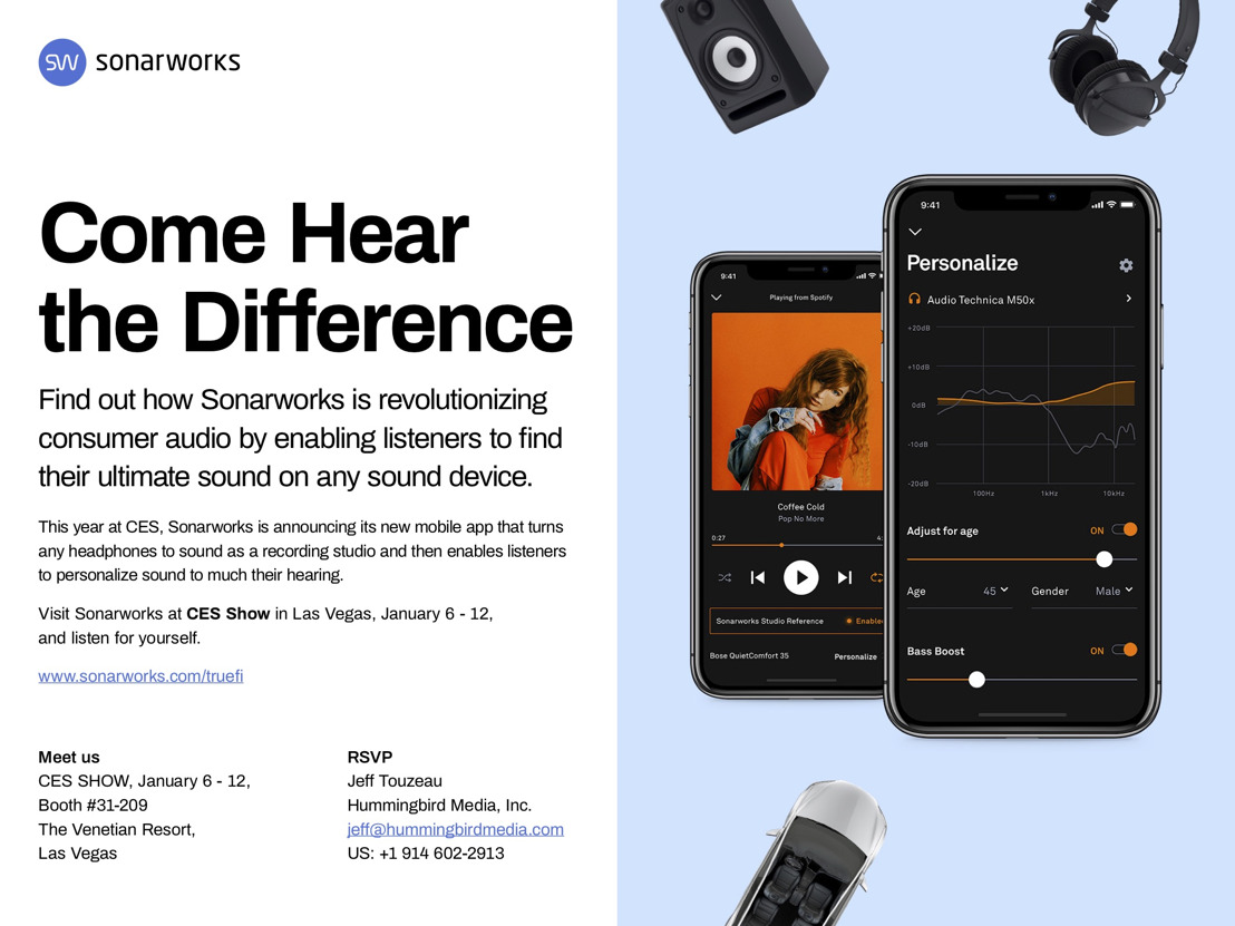 Come Hear the Difference: Find out how Sonarworks is revolutionizing consumer audio
