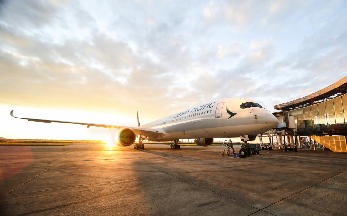 Cathay Pacific Group Releases Combined Traffic Figures for November 2019
