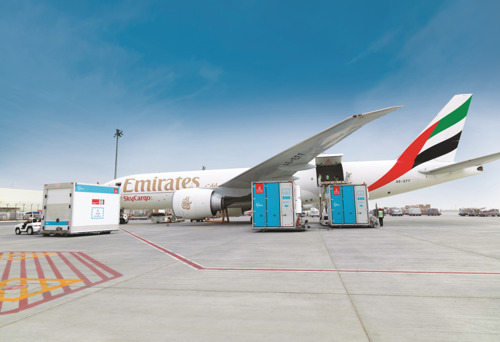Emirates SkyCargo helps deliver healthcare from South Korea to Africa