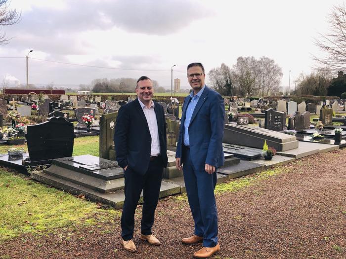 Herwaardering voor oude begraafplaatsen in Sint-Pieters-Leeuw