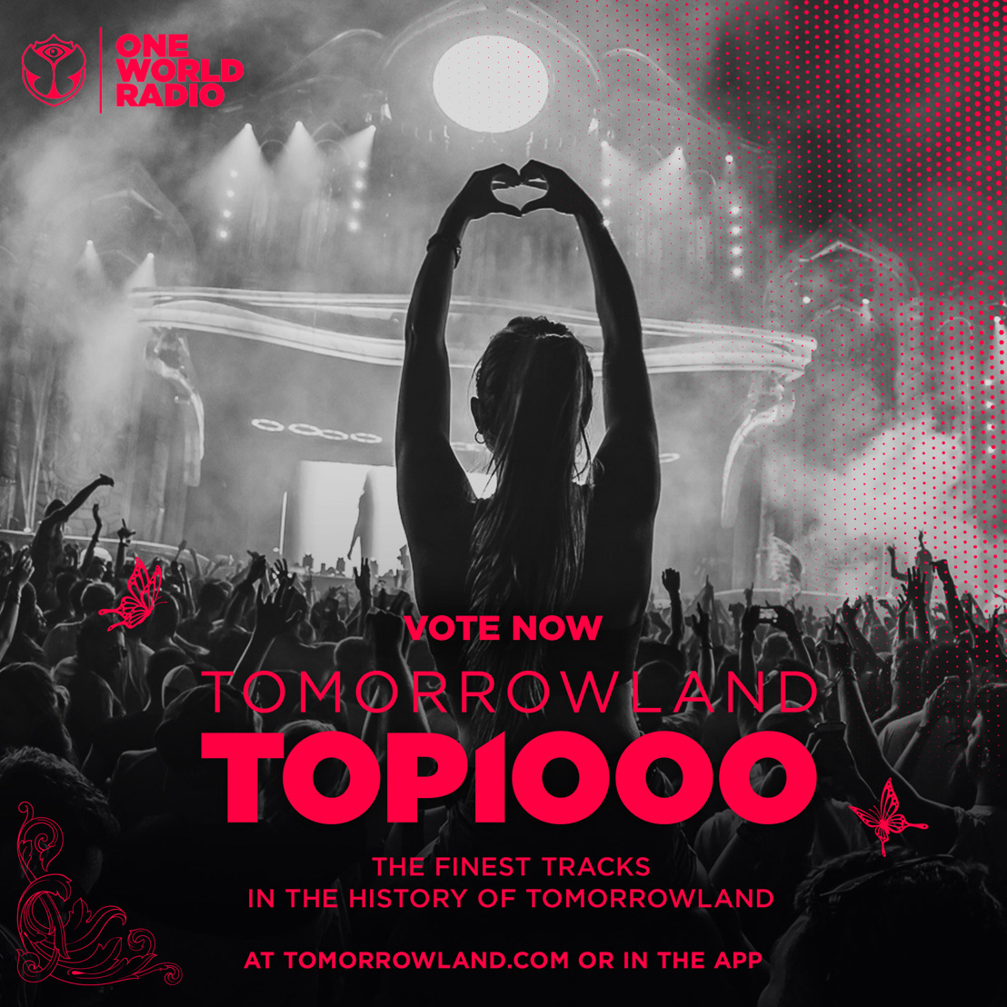 Tomorrowland - One World Radio presents the Tomorrowland Top 1000, celebrating the finest tracks in the history of Tomorrowland