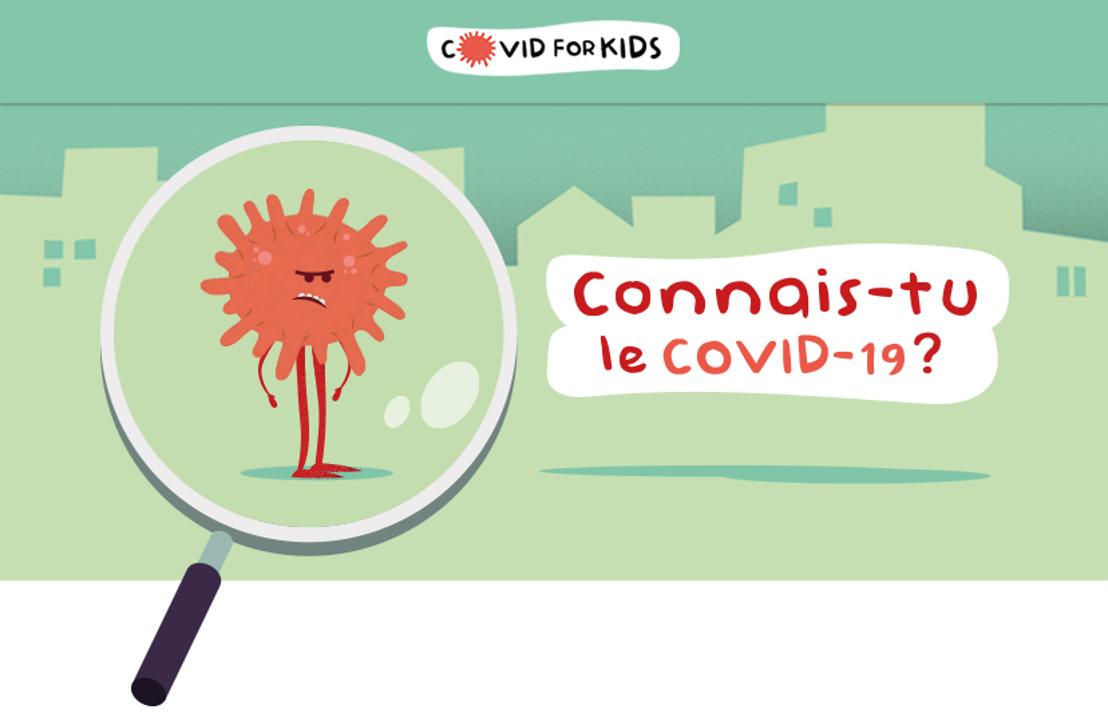 Le Covid-19 expliqué aux enfants : Covid for Kids est né !