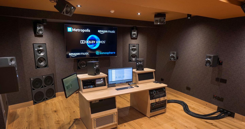 Neumann Monitore für Immersive Audio in den Metropolis Studios / London