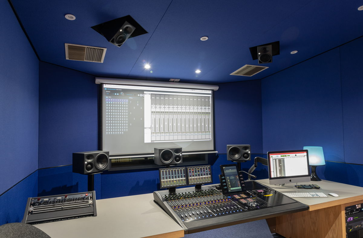 Neumann monitors have been confirmed as the monitor of choice across all the new spaces at LIPA