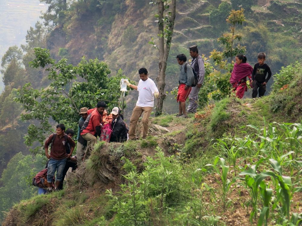 System identifier<br/>: MSF145012<br/>Title<br/>: Kathmandu, Nepal<br/>Photographer / cameraman<br/>: Jean-Paul Delain<br/>Countries:<br/>Nepal