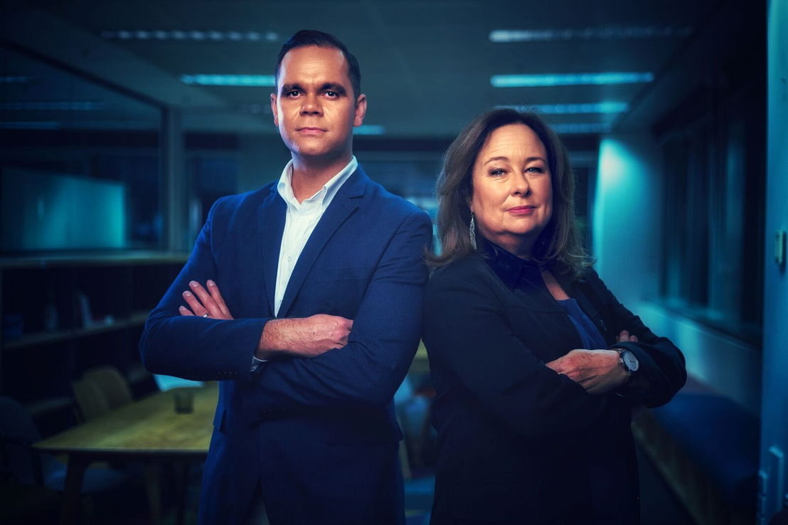 Journalist Allan Clarke and Senior Producer & Additional Reporting Suzanne Smith, Unravel True Crime and Australian Story: Blood on the Tracks