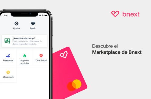 Bnext activa el primer marketplace de servicios financieros en México