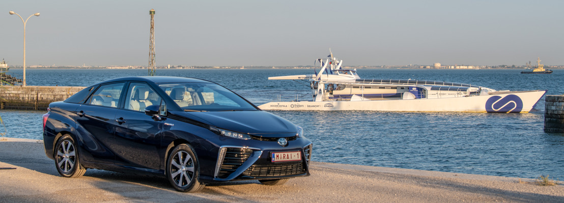 Toyota zeilt de toekomst tegemoet met Energy Observer