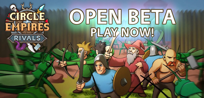 ⚔️🧙‍♂️Circle Empires Rivals Open Beta This Weekend!🏹🌍
