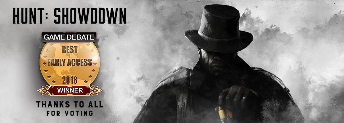 Hunt: Showdown Wins Best Early Access in 2018 Game Debate Awards