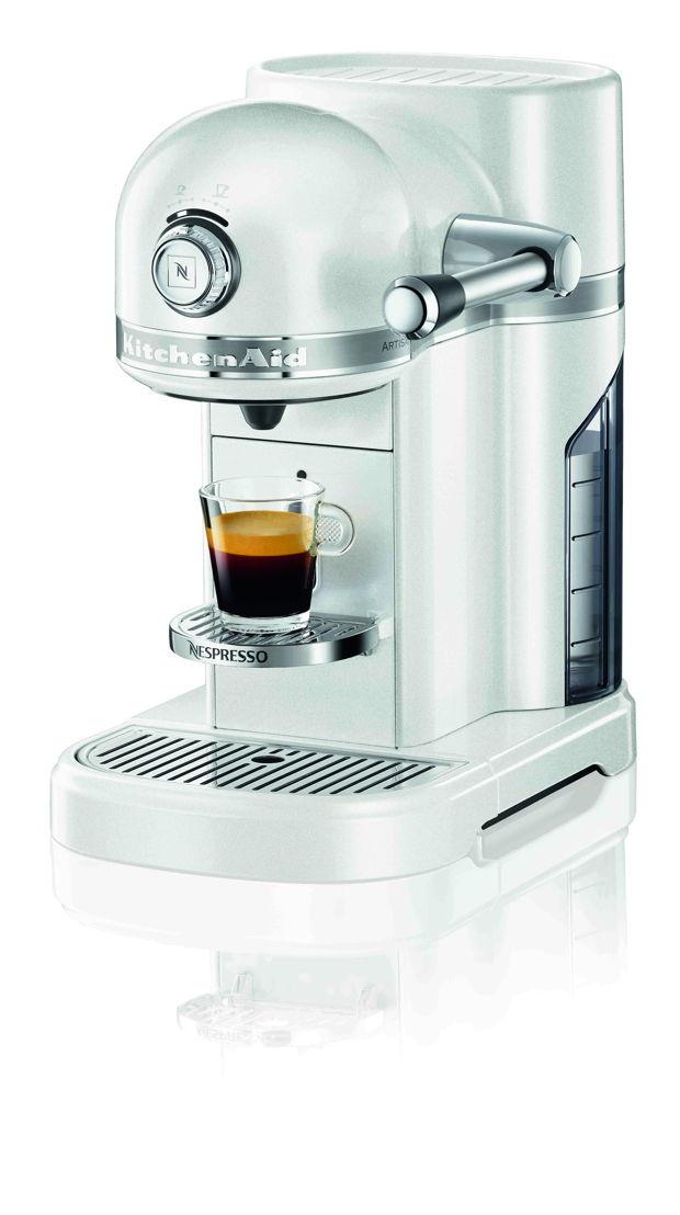 Nespresso KitchenAid Pearl White - 398,95 €