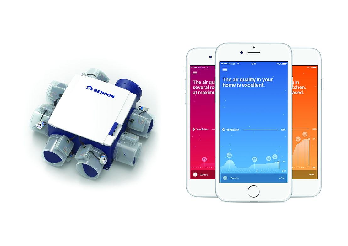 Renson Healthbox 3.0 + App