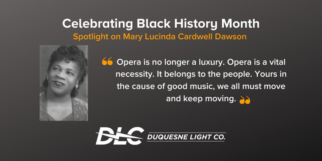 Black History Month: Spotlight on Mary Lucinda Cardwell Dawson